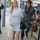 Joanna Krupa out for lunch with friends in Beverly Hills, California on December 18, 2014