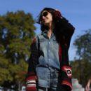 Blanca Padilla – Arrives at Elie Saab Fashion Show in Paris