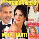 George Clooney, Amal Alamuddin - Woman's Weekly Magazine Cover [New Zealand] (28 May 2018)