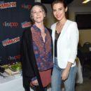 Lauren Cohan- October 8, 2016- AMC Presents 'The Walking Dead' at New York Comic Con - 399 x 600