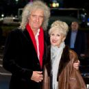 Brian May and Anita Dobson attend the Daily Mirror & RSPCA animal hero awards at The Grosvenor House Hotel on November 26, 2014 in London, England. - 431 x 594