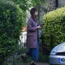 Jenna Louise Coleman at her Home in North London September 25, 2016 - 454 x 361