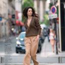 Hanaa Ben Abdesslem - Grazia Magazine Pictorial [Russia] (2 September 2014) - 454 x 595