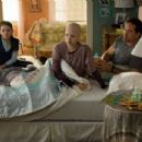 (L-r) ABIGAIL BRESLIN as Anna, SOFIA VASSILIEVA as Kate and JASON PATRIC as Brian in New Line Cinema's drama 'My Sister's Keeper,' a Warner Bros. Pictures release. The film also stars Cameron Diaz. Photo by Sidney Baldwin