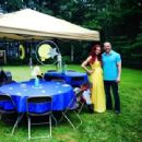 Maria and Mike Bennett's wedding shower in August 2014