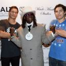 Wade Martin's premiere of music videos by Flavor Flav  at STK at The Cosmopolitan of Las Vegas on September 1, 2015 in Las Vegas, Nevada - 454 x 329