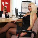 Nicolette Shea - Big Tits at Work - 454 x 303