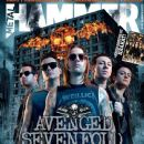 M. Shadows, Zacky Vengeance, Synyster Gates, Johnny Christ - Metal&Hammer Magazine Cover [Bulgaria] (September 2013)