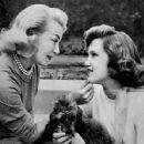 Lana Turner with beautiful daughter Cheryl Crane - 454 x 428