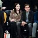 Rachel Brosnahan and Jason Ralph – Boston Celtics vs New York Knicks game - 454 x 528