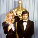Goldie Hawn and Steven Spielberg At The 52nd Annual Academy Awards (1980)
