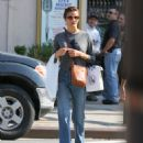 Helena Christensen Out In Hollywood