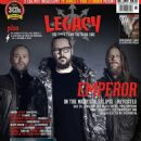 Faust, Ihsahn, Samoth - Legacy Magazine Cover [Germany] (April 2014)