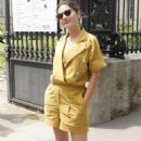 Virginie Ledoyen – Balmain Menswear SS 2019 in Paris - 454 x 770