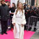 Gigi Hadid – Arriving at the Stuart Weitzman Event in NYC