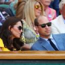 Prince Windsor and Kate Middleton : Wimbledon 2018 Men's Singles Final