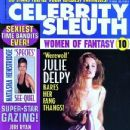 Julie Delpy - Celebrity Sleuth Magazine Cover [United States] (June 1999)