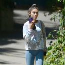 Chantel Jeffries – In yoga pants seen after gym in Los Angeles - 454 x 565