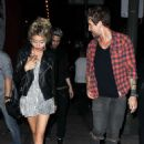 Sarah Hyland – Leaves Lucy Hale's birthday at Viva Hollywood in LA - 454 x 676