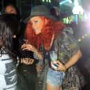 Rihanna Checks Out Coachella 2011