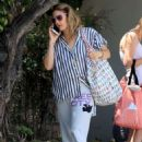 Drew Barrymore – Leaving Matsuhisa in Beverly Hills