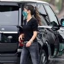 Jordana Brewster – Fill up gas in Brentwood - 454 x 681