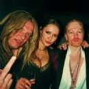 Axl Rose and Sasha Volkova - 454 x 453