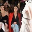 Actress Danielle Campbell attends the Leanne Marshall collection during, New York Fashion Week: The Shows at Gallery 2, Skylight Clarkson Sq on February 12, 2017 in New York City