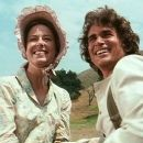 Karen Grassle and Michael Landon