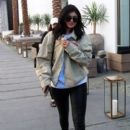 Kylie Jenner is spotted at Barneys New York in Beverly Hills, California on April 12, 2016