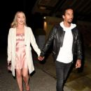 Helen Flanagan – On a date night in Manchester - 454 x 615