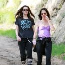 Liv Tyler Hiking In Griffith Park
