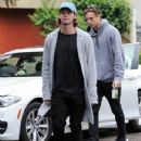Patrick Schwarzenegger and his mother Maria Shriver are spotted out house hunting for Patrick in Hollywood, California on January 10, 2017 - 432 x 600