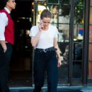 Zoey Deutch – Leaving her hotel in New York City