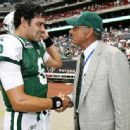 Joewith quarterback Sanchez of the Jets