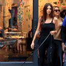 Emily Ratajkowski with her dog – Shopping in NYC