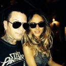 DJ Ashba and Natalia Henao