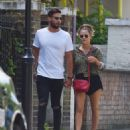 Caroline Flack and Andrew Brady – Out in London - 454 x 533