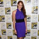 Actress Amanda Righetti attends the