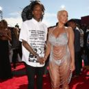 Amber Rose and Wiz Khalifa attend the 2014 MTV Video Music Awards at The Forum in Inglewood, California - August 24, 2014 - 414 x 594