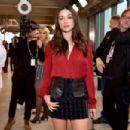 Crystal Reed – Longchamp Fashion Show in NYC - 454 x 303