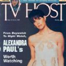 Alexandra Paul - TV Host Magazine Cover [United States] (September 1995)