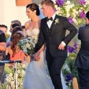 Nick Carter and Lauren Kitt Wedding Pics April 12, 2014 - 454 x 575