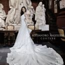 Bianca Balti for Alessandro Angelozzi Couture Bridal 2015