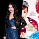 """Lily Collins promotes """"Mirror Mirror"""" during the Meet the Actor series at the Apple Store Soho on March 27, 2012 in New York City"""
