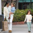 Kourtney Kardashian: visiting one of her DASH stores in West Hollywood