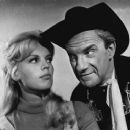 Marta Kristen and Jonathan Harris