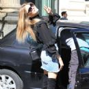 Martha Hunt – Seen out in Milan – Italy