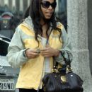 Sanaa Lathan - Leaving The Ivy After Having Lunch In Beverly Hills - Feb 20 2008
