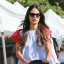 'Furious 7' actress Jordana Brewster went to the farmer's market with her family in Los Angeles, California on August 21, 2016 - 454 x 540